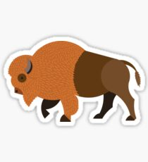 American Bison - Buffalo Sticker