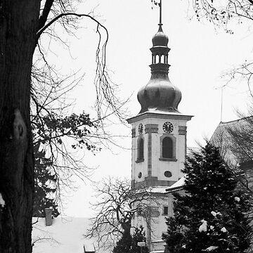 Chapel of the Revelation of the Lord, Smirice, Czech Republic by Lenka