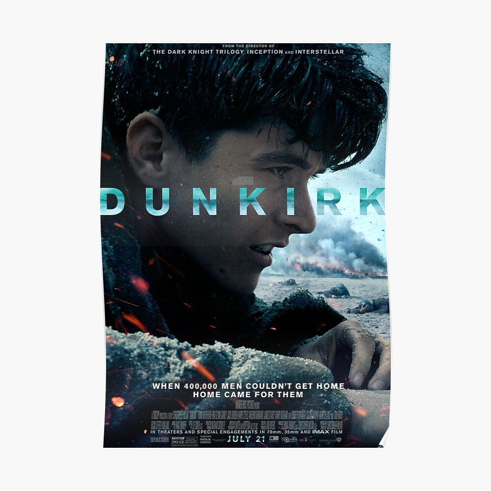 Official poster 2 (Fionn Whitehead) - DUNKIRK Poster