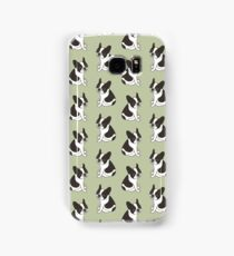 Say hello to the cute double hooded pied French Bulldog Samsung Galaxy Case/Skin