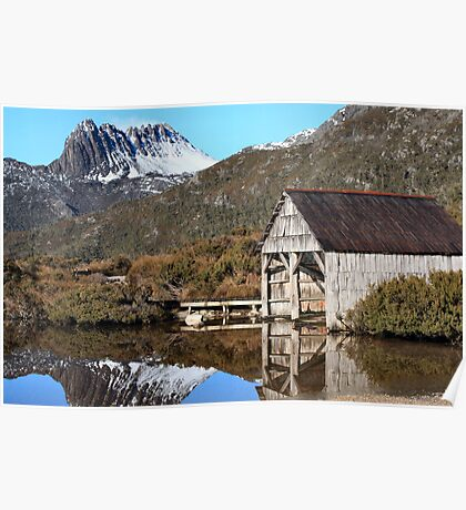 Cradle Mountain Boat House - Tasmania Poster