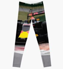 Formula 1 Painting  Leggings