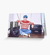 BTS HER SUGA Greeting Card