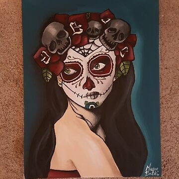 """Day of the dead"" by Moonstruck-Art"