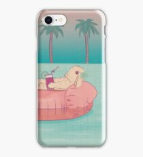 Summer Holiday Rabbit iPhone Case/Skin