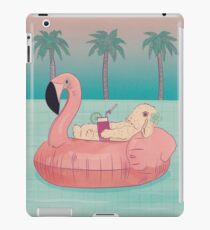 Summer Holiday Rabbit iPad Case/Skin