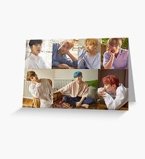 BTS love yourself teaser Greeting Card