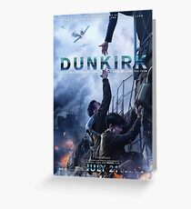 Official poster 5 (Alex and Tommy) - DUNKIRK Greeting Card