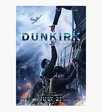 Official poster 5 (Alex and Tommy) - DUNKIRK Photographic Print