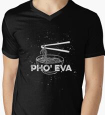 Pho   Eva Men's V-Neck T-Shirt
