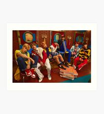 BTS DNA  Art Print