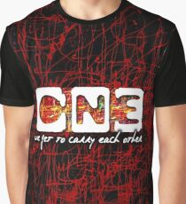 U2 One new release Graphic T-Shirt