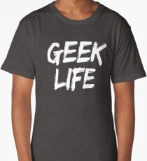 GEEK LIFE - iPhone Cases & Skin Long T-Shirt