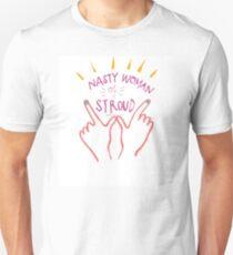 Nasty Woman by Rosalie Darien Jones Unisex T-Shirt
