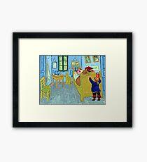 Phatt's bedroom Framed Print