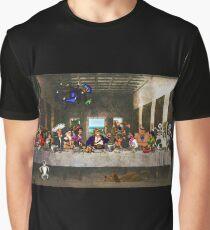 Last Monkey Supper Graphic T-Shirt