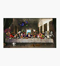 Last Monkey Island Supper Photographic Print