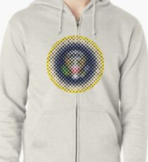 The Seal of the United Half Tones Zipped Hoodie
