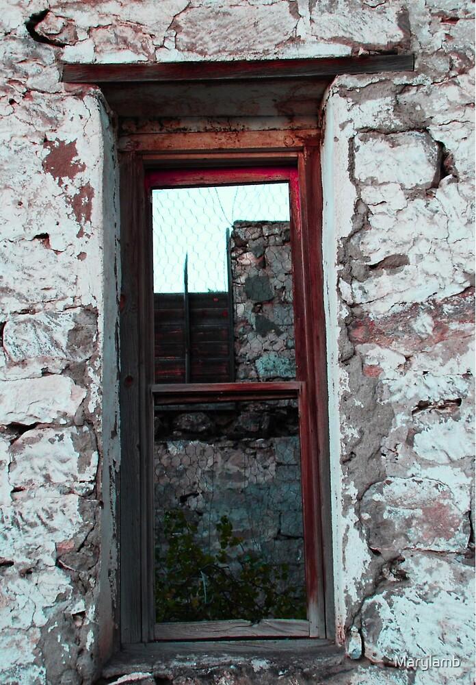 Diamond Dance Hall Window by Marylamb