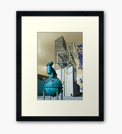 Industrion - strange reality Framed Print