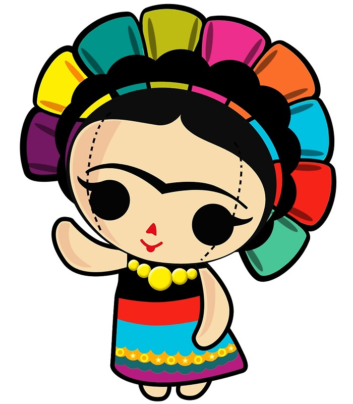 Frida Kahlo Clipart Cliparts Galleries