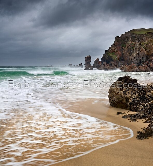 Traigh Dhail Mhor.  Isle of Lewis. Outer Isles. Scotland. by Barbara  Jones ~ PhotosEcosse