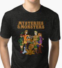 Mysteries & Monsters Tri-blend T-Shirt
