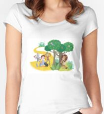 Cowardly Lion Women's Fitted Scoop T-Shirt