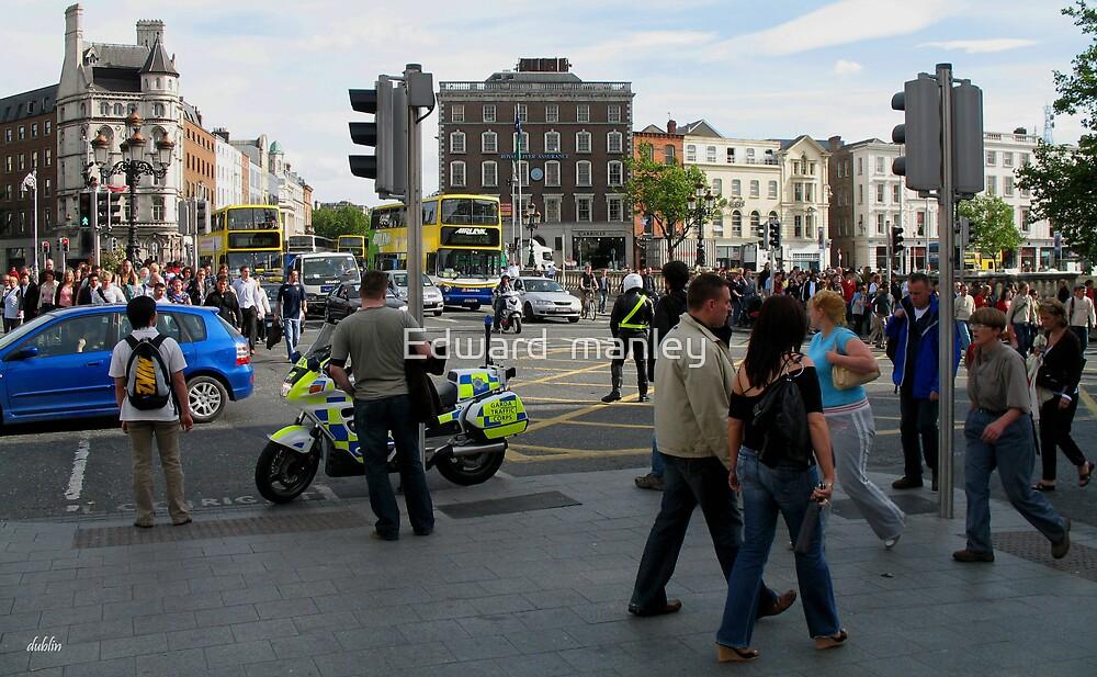 dublin city stroll 2 by Edward  manley