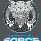 Minnesota Force Logo w/ Text by MNForce