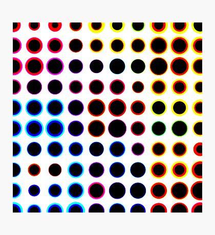 Dot field Photographic Print