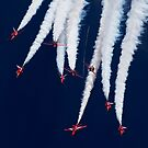 Red Arrows Spag Break by captureasecond