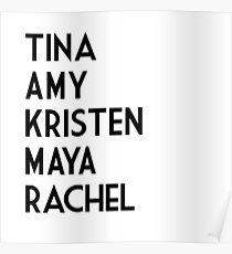 ladies of SNL Poster