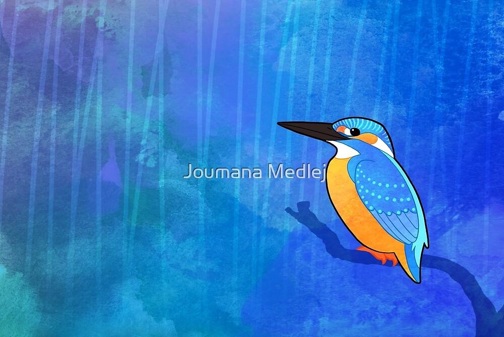 Common Kingfisher (Alcedo atthis) by Joumana Medlej