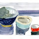 Group of Bowls by Gabriele Maurus