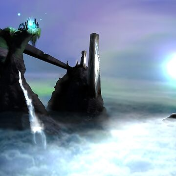 First envornment concept art  by DarrelLeigh