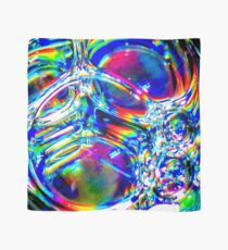 The Bubbles and Spectrum. Blue. Scarf