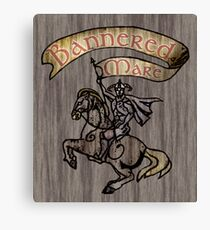 The Bannered Mare Canvas Print
