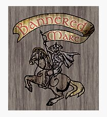 The Bannered Mare Photographic Print