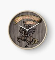 The Bannered Mare Clock