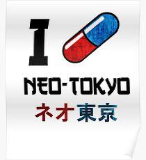 I Love Neo-Tokyo Poster