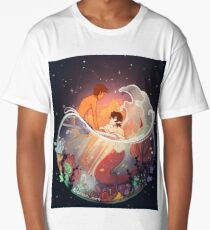 Flowers and Stars Long T-Shirt