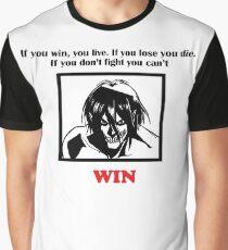 Eren attack on titan Quotes Graphic T-Shirt