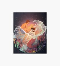 Flowers and Stars Art Board