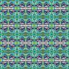 Kingfisher Bird Pattern by peaceofpistudio