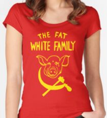 Fat White Family Women's Fitted Scoop T-Shirt