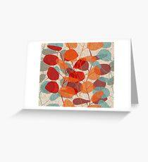 Lunaria Greeting Card