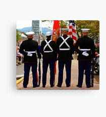 4 Marines Canvas Print