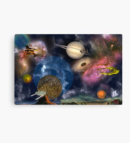 My Dreams Canvas Print