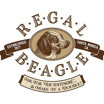"""Regal Beagle - Double Entendré"" - an homage to ""Three's Company"" by vertigocreative"